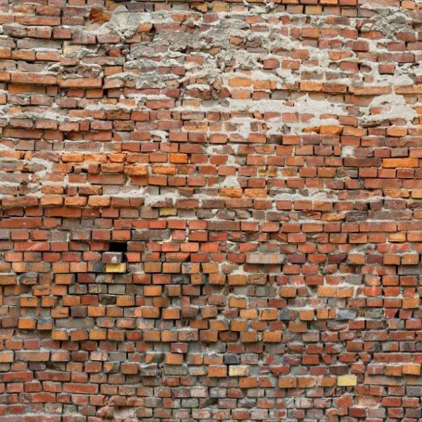 Fotobehang oude stenen muur