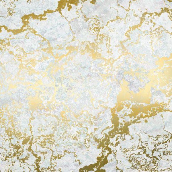 Fotobehang gouden marmer